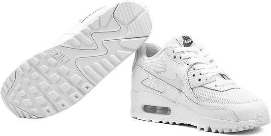 Nike Air Max 90 Mesh GS Wit Kinder Sneaker 724824 100 Maat 37.5