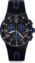 Swatch Power Tracking Kaicco Core horloge  - Zwart