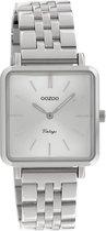 OOZOO Vintage Zilverkleurig horloge C9950 (29 mm)