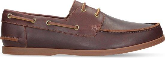 Clarks - Herenschoenen - Pickwell Sail - G - british tan leather - maat 8,5