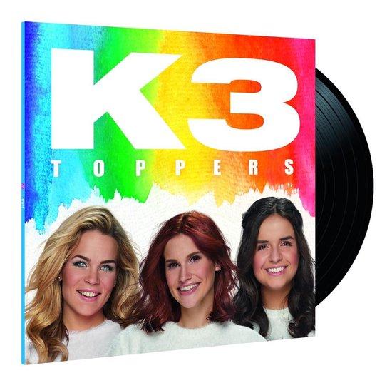CD cover van K3 Toppers (LP) van K3