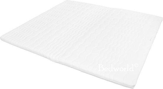 Bedworld 180x200 Oplegmatras Topper SG40 - 7 cm matrasdikte Stevig ligcomfort