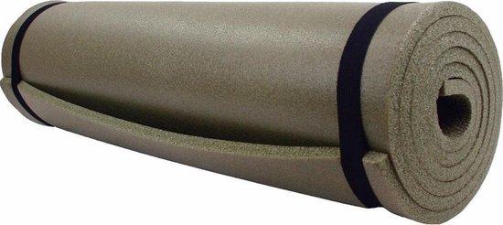 Highlander slaapmat Nato mat 185 x 55 x 1 cm - olijfgroen