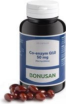 Bonusan Co – Enzym Q10 - 120 Capsules - Voedingssupplement