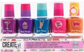 Create It! Nagellak Color Changing 8 Ml 5-delig