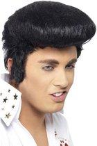 """""""Elvis™ pruik voor volwassenen - Verkleedpruik - One size"""""""