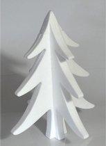 5x Hobby/DIY piepschuim kerstboom 30 cm - Kerstboom maken - Knutselen basismateriaal kerstversiering / decoratie