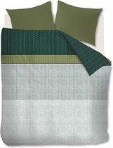 Beddinghouse Camaro Dekbedovertrek - Eenpersoons - 140x200/220 cm - Groen