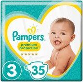 4x Pampers Premium Protection Luiers Maat 3 (4-9 kg) 35 stuks