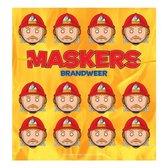 Prentenboek Maskers brandweer