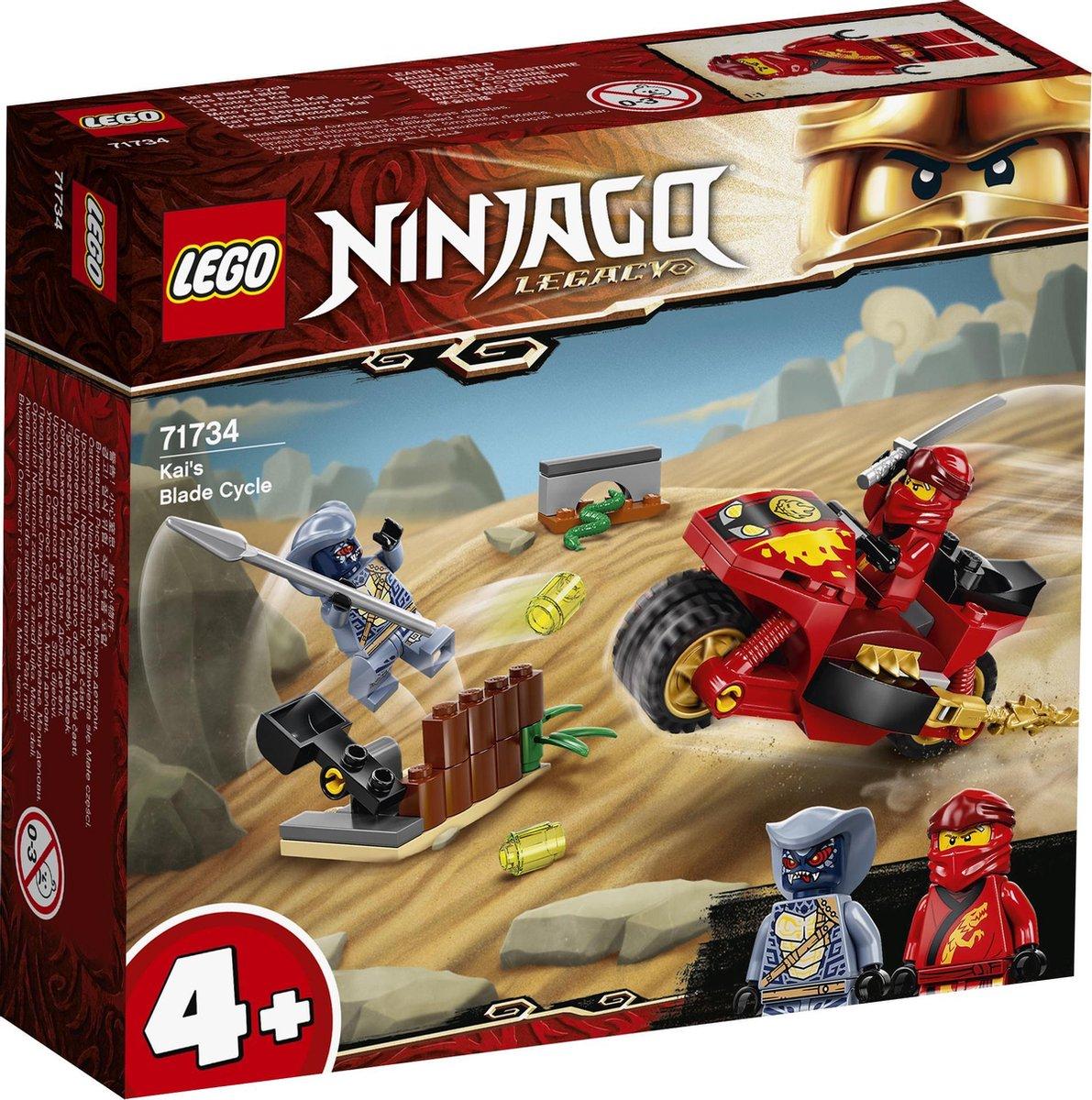 LEGO NINJAGO Legacy Kai's Zwaardmotor - 71734