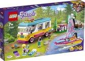 LEGO Friends Boscamper en Zeilboot - 41681