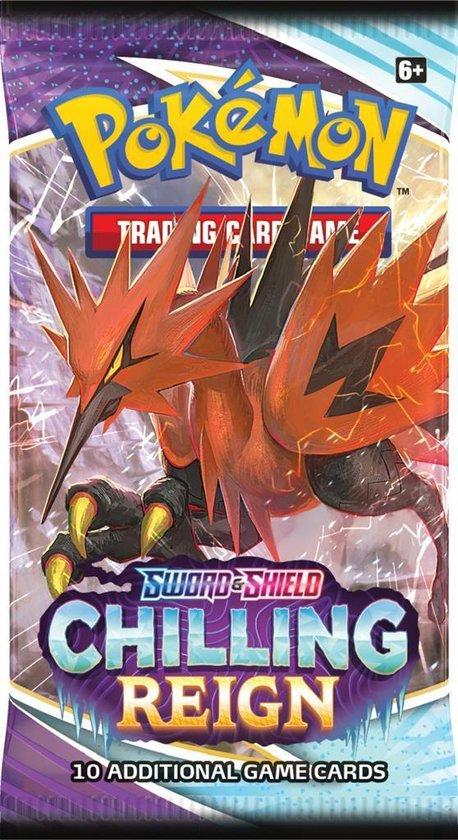 Pokémon Sword & Shield Chilling Reign Booster Pack - Pokémon Kaarten