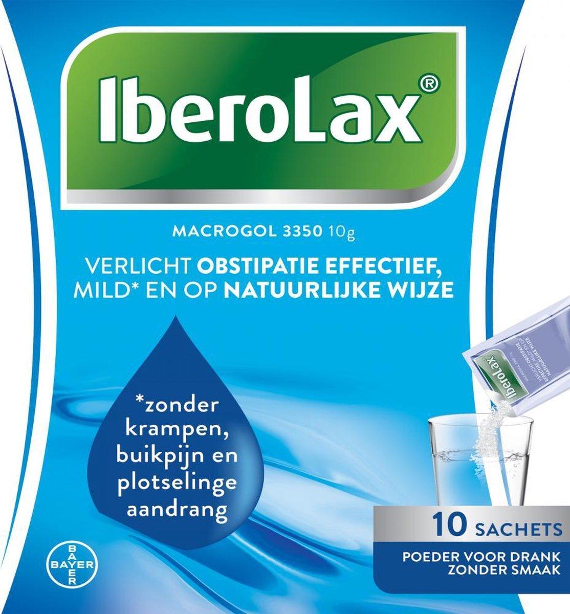 Iberolax verlicht obstipatie effectief, 20 sachets