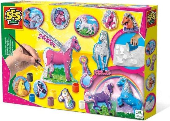 Ses 01155 Figuren Gieten en Schilderen Paarden, 60+ mnd