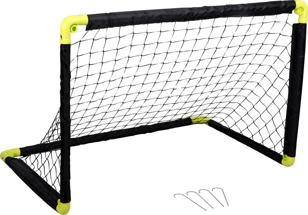 Dunlop Voetbaldoel - Voetbalgoal - Minigoal - Oefendoel Opvouwbaar - 90x59x61cm