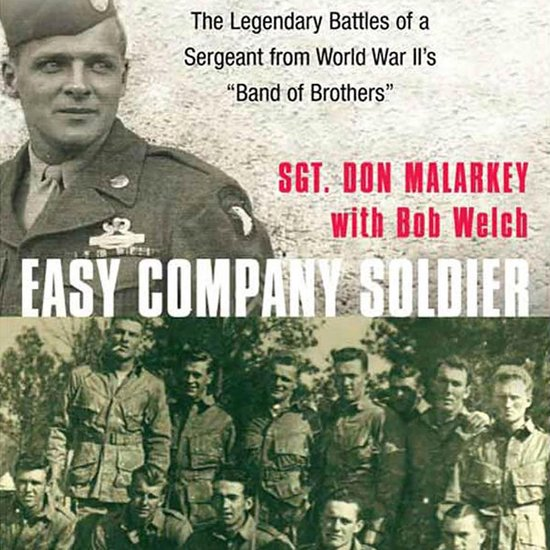 Boek cover Easy Company Soldier van Don Malarkey (Onbekend)