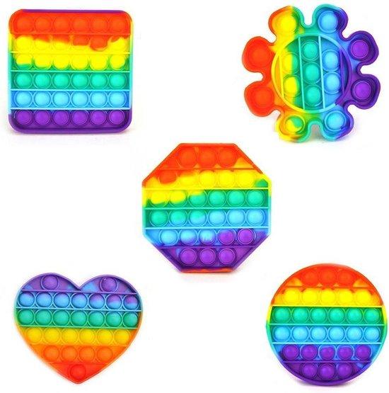 Afbeelding van het spel Stress Pop'n Play Rainbow Assorti