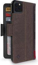 BookBook Case iPhone 11 Pro hoesje - Bruin