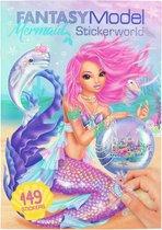 Fantasy Model Mermaid Stickerboek
