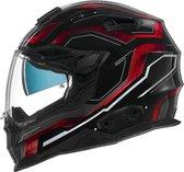 Nexx X.WST2 Supercell Black Red  Integraalhelm - Motorhelm - Maat M