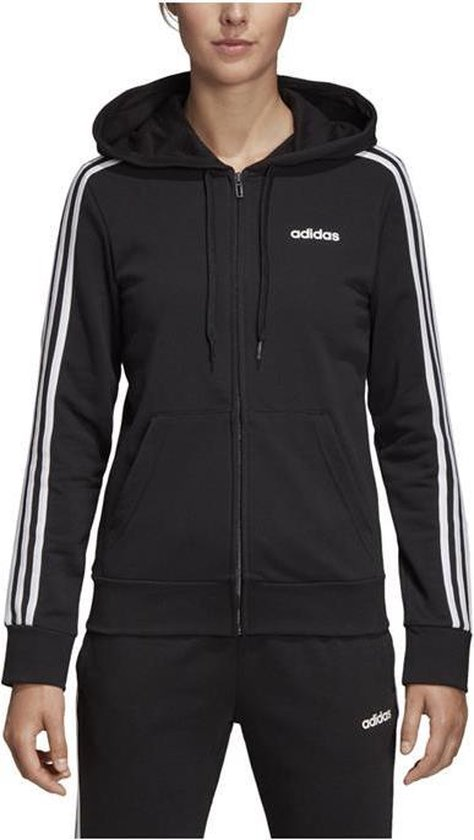 bol.com | adidas Essentials 3 Stripes vest dames zwart/wit