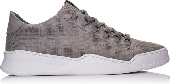 HINSON ALLIN HIKING GEO Grey Embossed Leather - 41