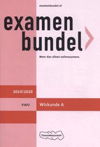 Boek cover Examenbundel vwo Wiskunde A 2019/2020 van H.R. Goede