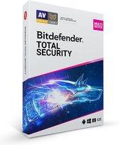 Bitdefender Total Security 2020 - 10 Apparaten - 1 Jaar - Nederlands - Windows/iOS/MAC/Android Download