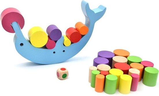 Houten balansspel | Montessori speelgoed | Houten speelgoed | Kidzstore.eu