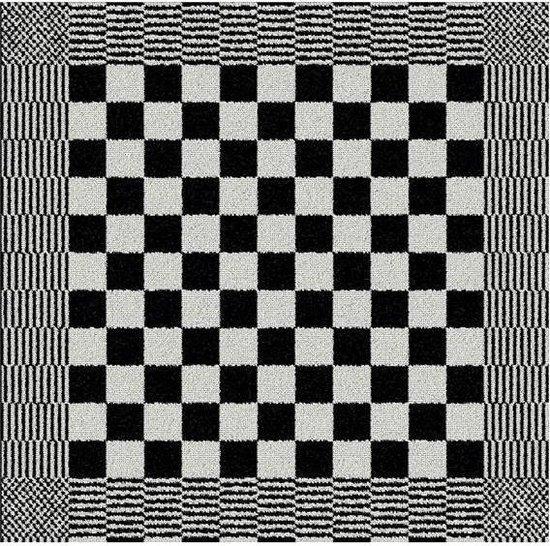DDDDD Barbeque - Keukendoek - 50x55 cm - Set van 6 - Black
