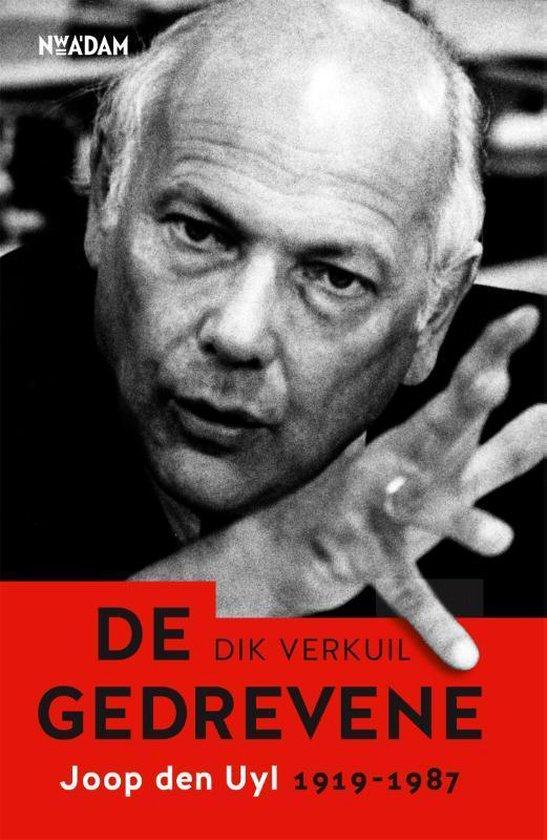 Boek cover De gedrevene van Dik Verkuil (Hardcover)