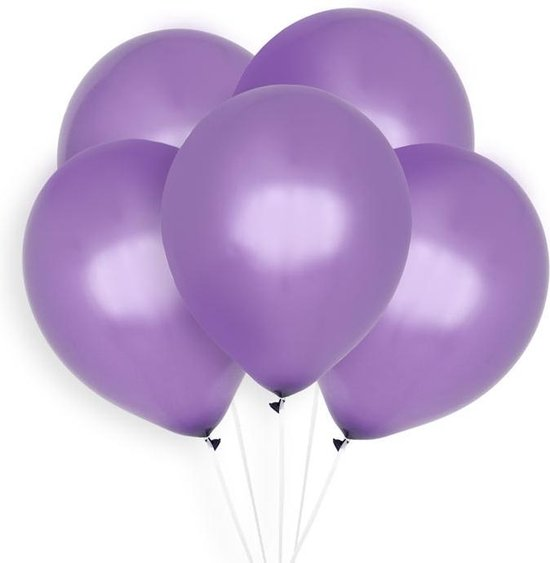 Ballonnen Paars (10st) Perfect Basics House Of Gia