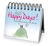 Kalender - Omslagkalender - Eeuwigdurend - 365 happy days