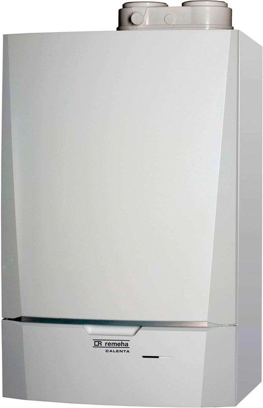 Remeha condensatieketel op gas voor wandmontage Calenta 40C plus vermogen 34 KW met montagebeugel