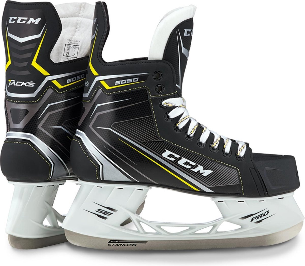 CCM IJshockeyschaatsen TACKS 9050 SR Zwart 47