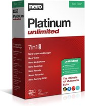 Nero Platinum Unlimited - 1 Gebruiker - Meertalig - Windows Download