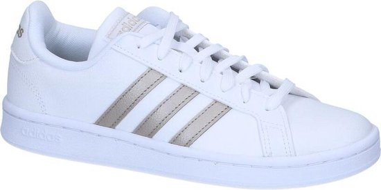 adidas Grand Court Sneakers Dames - White - Maat 40