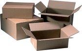 Verzenddoos CleverPack bulk 305x220x150mm - bruin -20 stuks