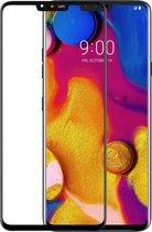 Azuri screenprotector tempered glass - Voor LG V40 ThinQ - Zwart