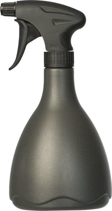 Zwarte plantenspuit 700 ml - Tuinbenodigdheden - Waterverstuiver - Plantensproeiers/plantenspuiten