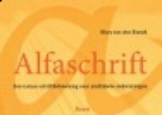 Alfaschrift - M. van den Brandt   Fthsonline.com