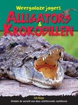 Weergaloze jagers alligators-krokodillen