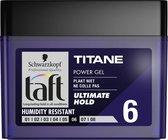 Taft Men Power Gel Titane Hold 6 250 ml