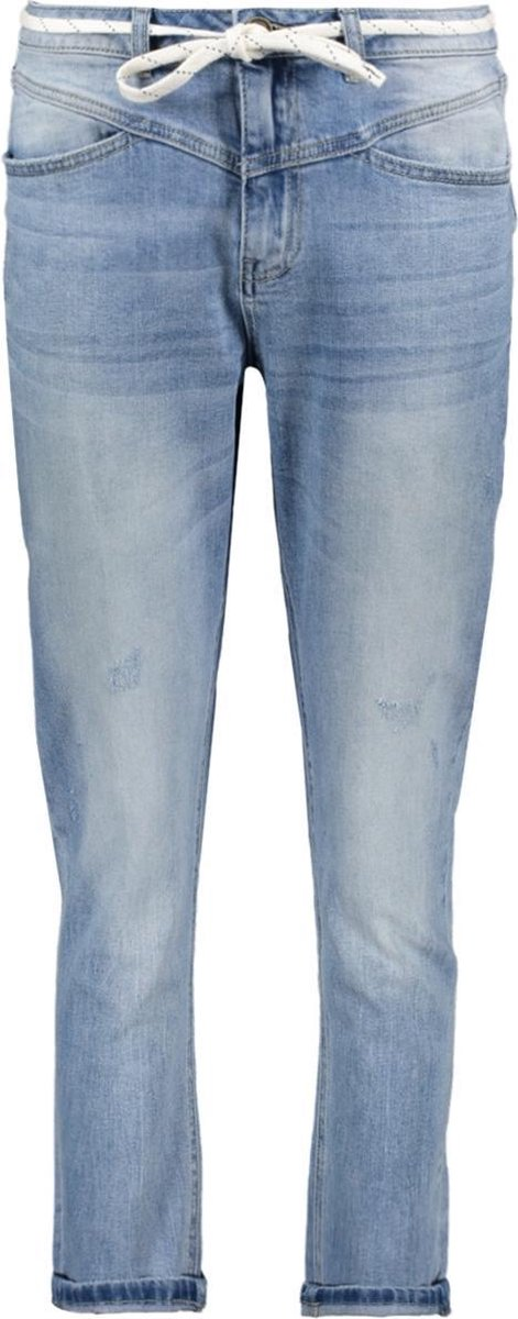 Jeans With Cord 01011 Blue Denim