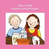 Kiki en Pelle  -   Kiki en Pelle bakken pannenkoeken