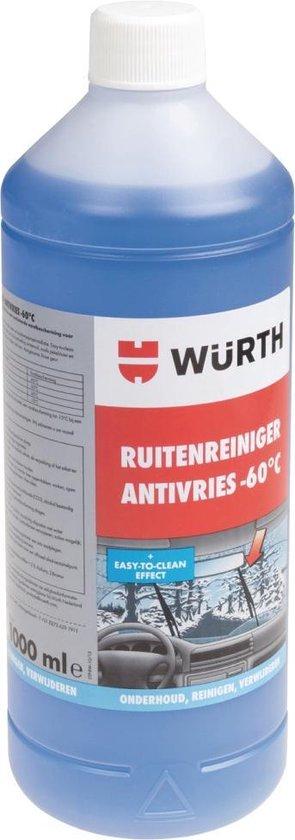 Würth Wu-332840 Ruitenreiniger Plus 1000 Ml