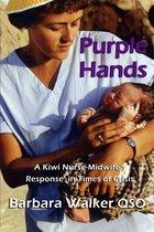 Omslag Purple Hands