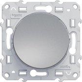 Wisselschakelaar - Aluminium - Odace - Schneider Electric - S530203