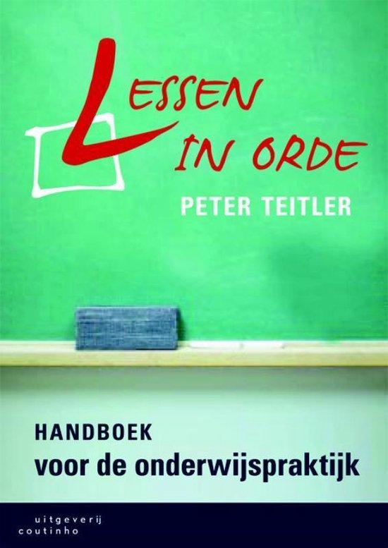 Lessen in orde - Peter Teitler |